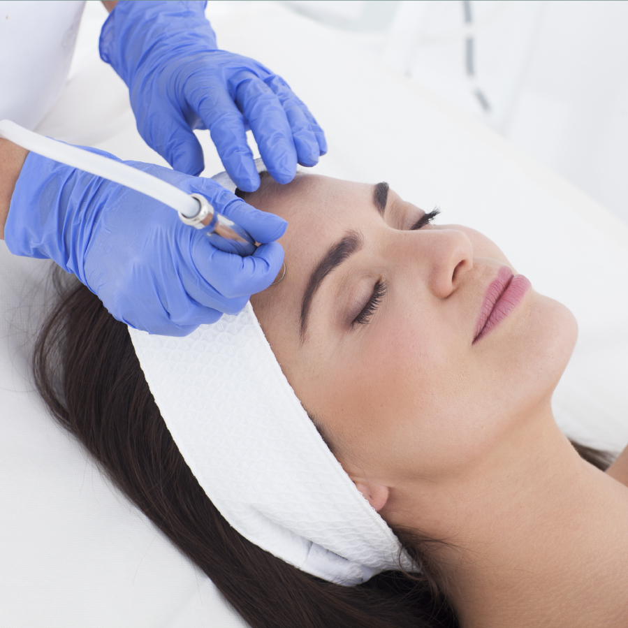 Microdermabrasion at Sutherlands Hair and Beauty Skin Clinic in Newport-on-Tay near Dundee