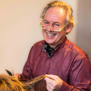 Bruce Sutherland at Sutherlands Hair and Beauty