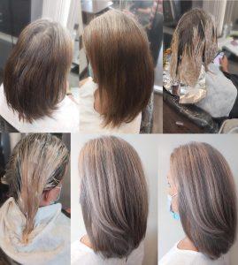 Hair Colour Transformation